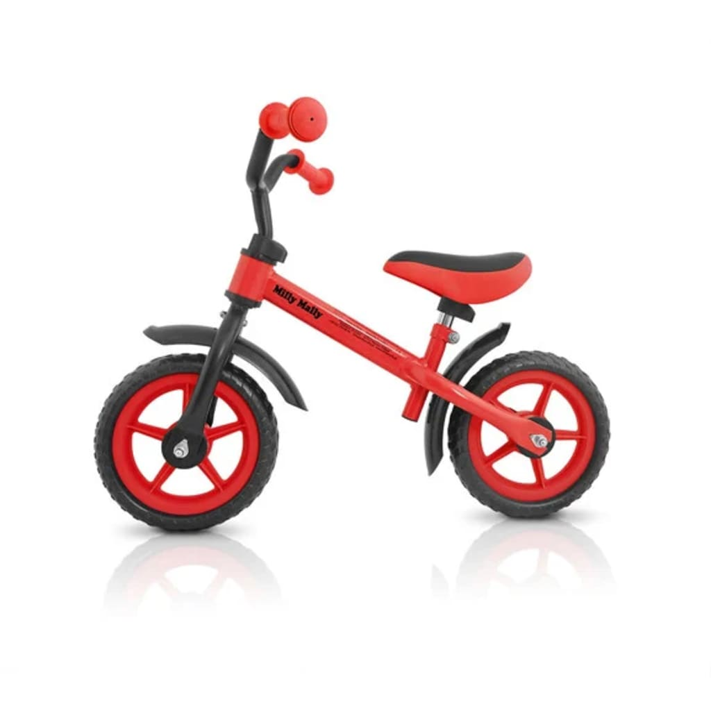 """Milly Mally Children Balance Bike Red"""