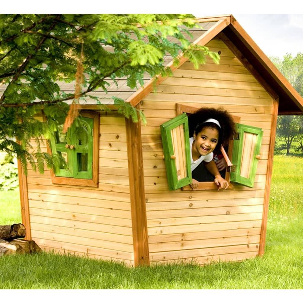Casetta da gioco per bambini in legno alice axi for Grande casetta per bambini