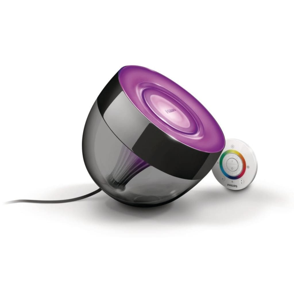 La Boutique En Ligne Philips Lampe 224 Poser Led Iris Noir