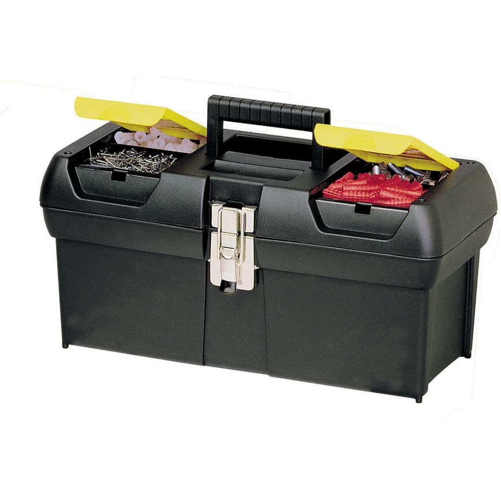 Stanley 16 pulgadas caja de herramientas con bandeja - Caja de herramientas stanley ...