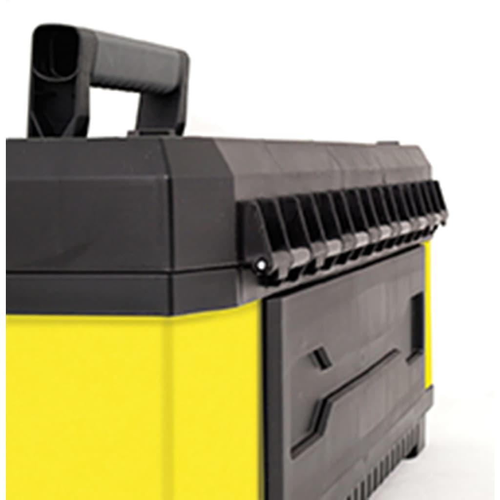 Stanley caja de herramientas de metal pl stico de 20 - Caja de herramientas stanley ...