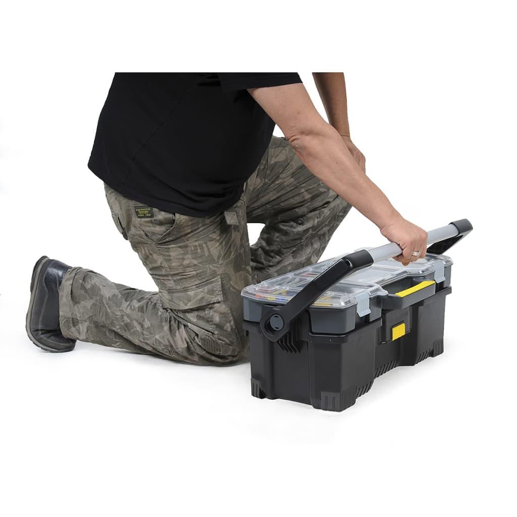 Stanley caja de herramientas de 24 pulgadas con - Caja herramientas stanley ...