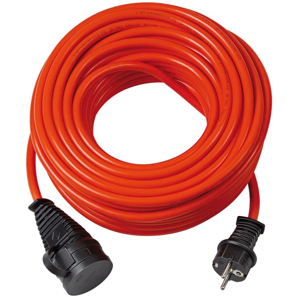 Brennenstuhl Förlängningskabel Super Solid Kabel 25 m Orange