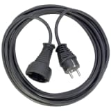 Brennenstuhl Quality Plastic Extension Cable 25m Black(DE and NL only)
