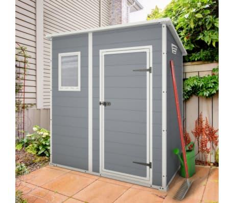 acheter abri de jardin keter manor 64 pas cher. Black Bedroom Furniture Sets. Home Design Ideas