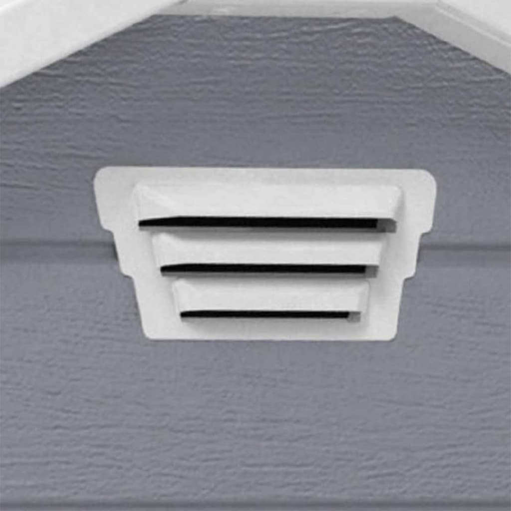 acheter keter abri de stockage de jardin manor 6x5 dd gris 204496 pas cher. Black Bedroom Furniture Sets. Home Design Ideas