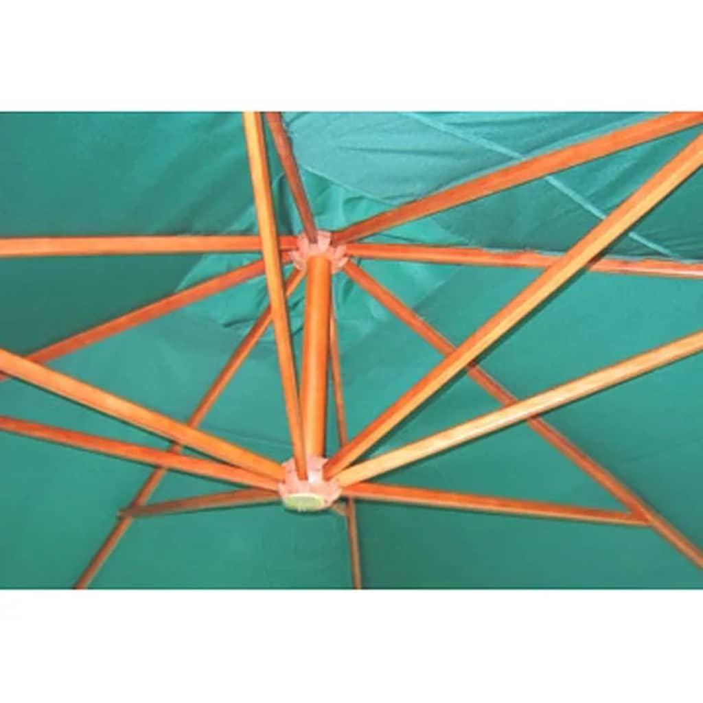 Acheter parasol d port vert 300 x 400 cm pas cher - Parasol deporte vert anis ...