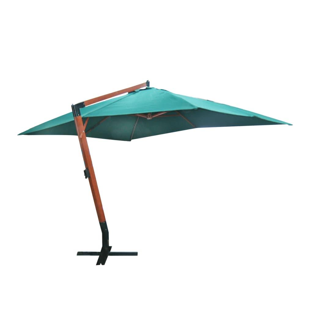 Acheter parasol d port vert 300 x 400 cm pas cher - Parasol deporte solde ...