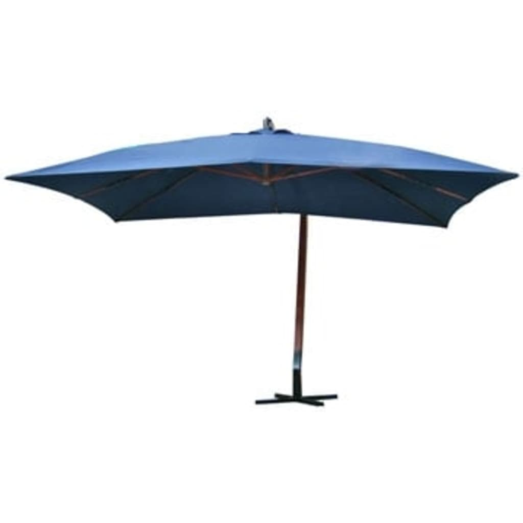 la boutique en ligne vidaxl parasol 300 x 400 cm bleu. Black Bedroom Furniture Sets. Home Design Ideas