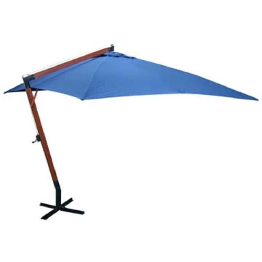 acheter vidaxl parasol 300 x 400 cm bleu pas cher. Black Bedroom Furniture Sets. Home Design Ideas
