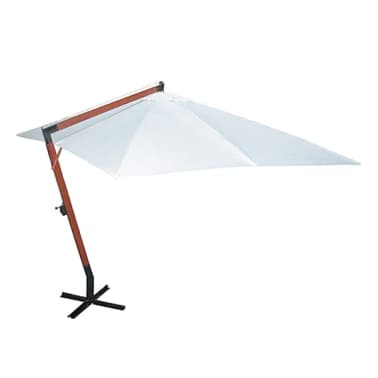 Parasol d port blanc 300 x 400 cm - Parasol deporte solde ...