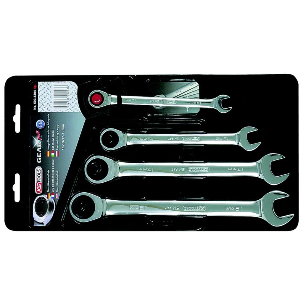 KS Tools skiftnyckel set 4 skiftnycklar mellan 10-19 mm