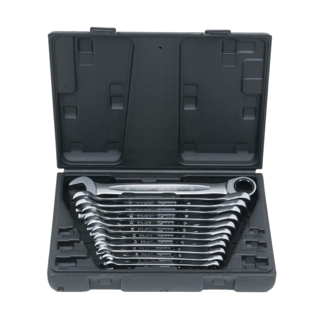 KS Tools set förvaringsväska & 12 skiftnycklar mellan 8-19 mm
