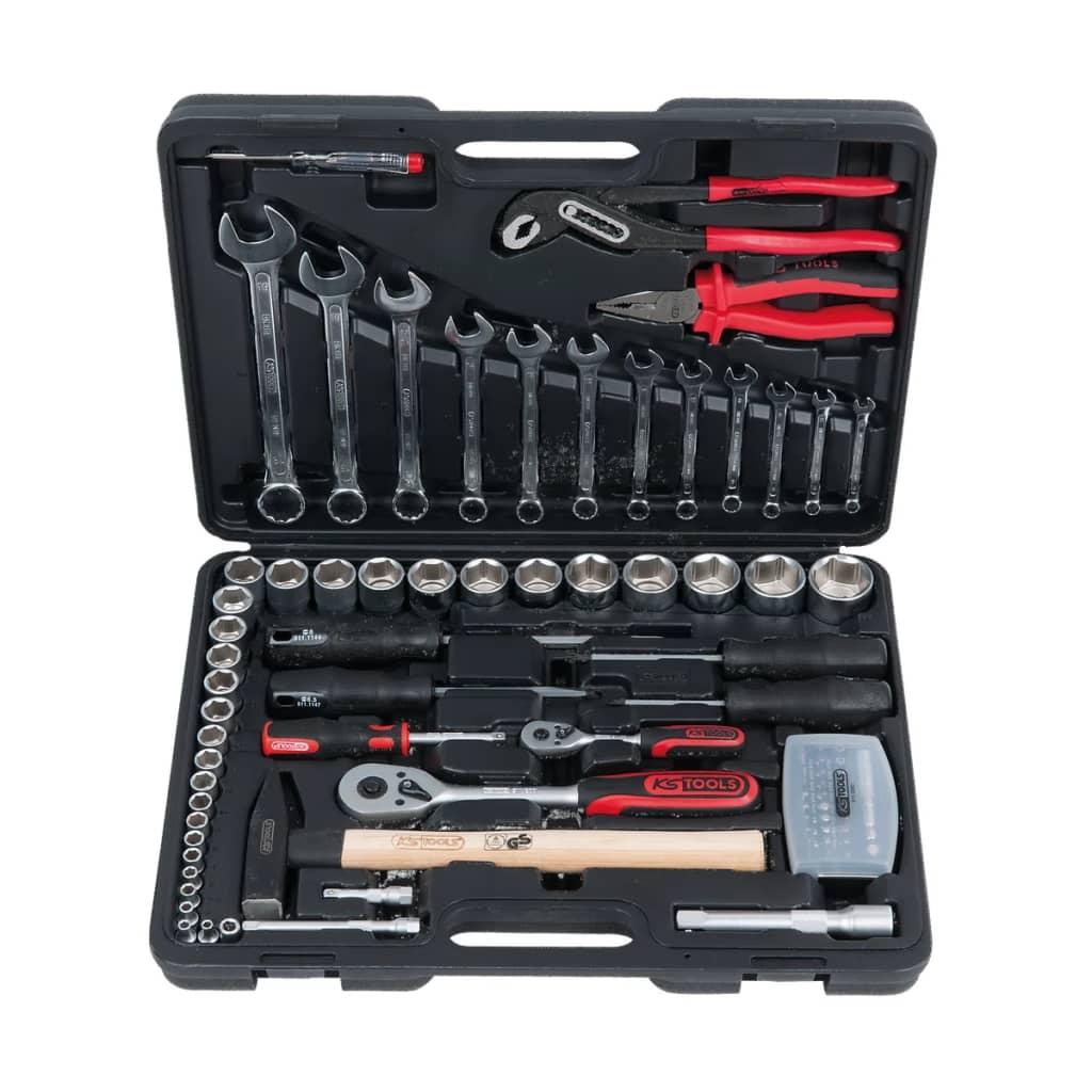 KS Tools verktygslåda med 88 verktyg