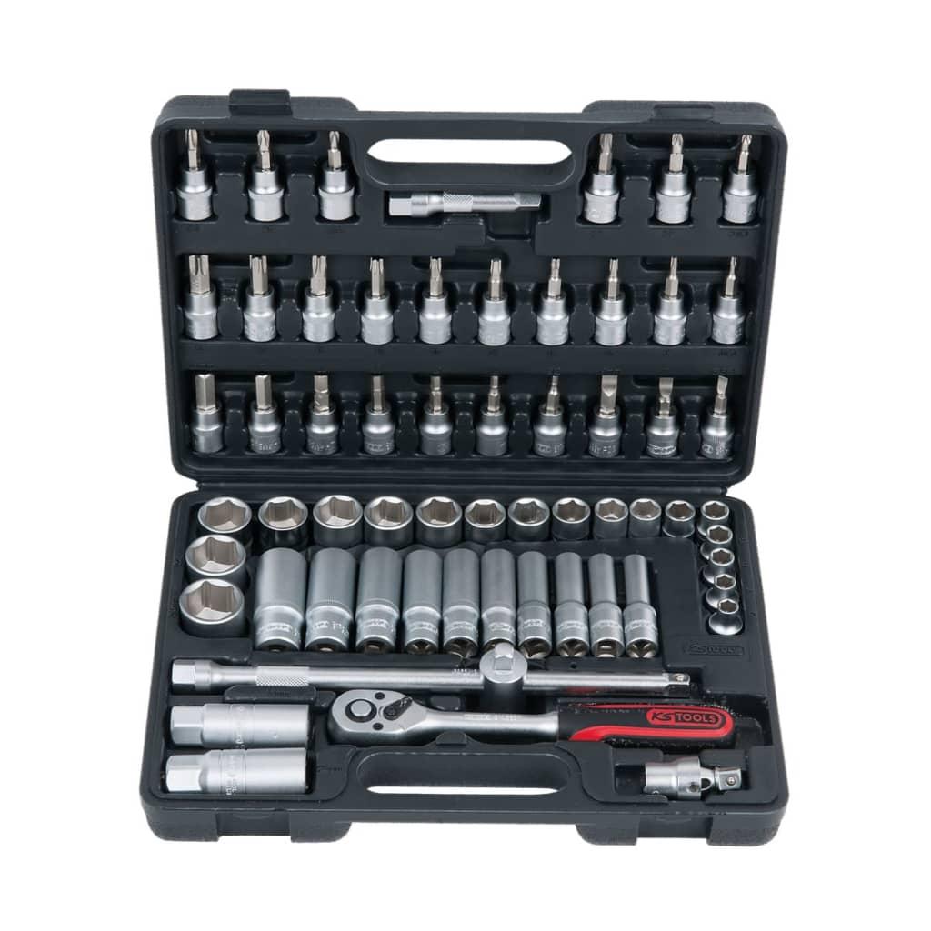 KS Tools Superlock set med hylsor 61 delar 3/8