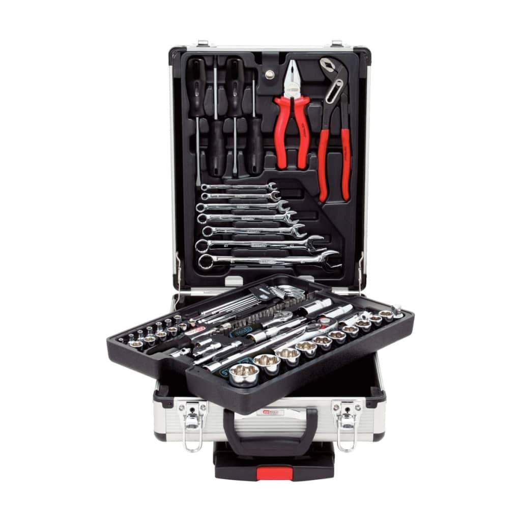 KS Tools kromverktyg 90 delar 1/4″+1/2″