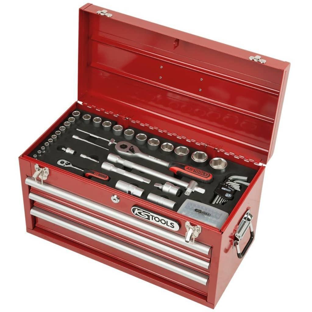 KS Tools Super Zár Univerzális Szerszámkészlet 100 db 1/4 Colos 1/2