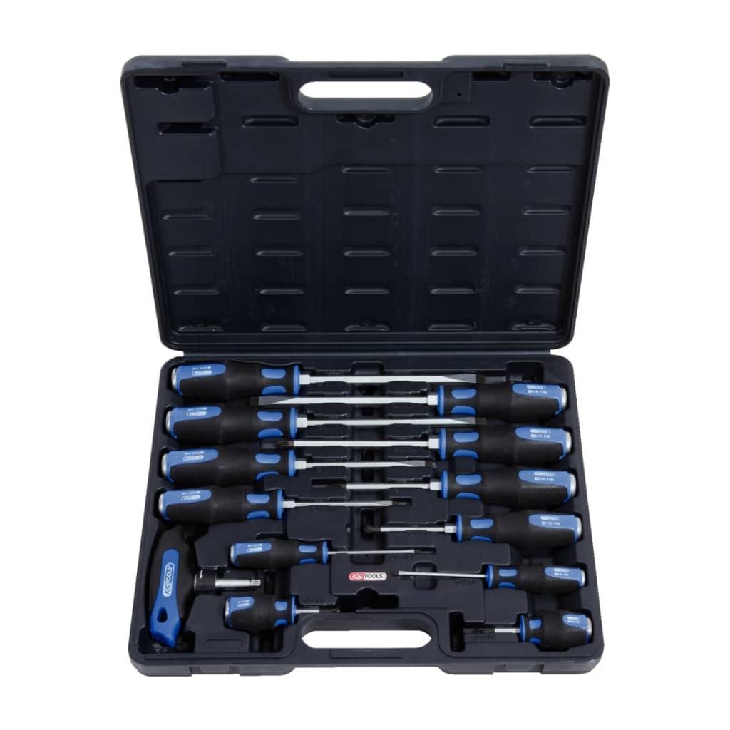 KS Tools Szerszámok Maximális Hasított & Phillips Csavarhúzó 13 db