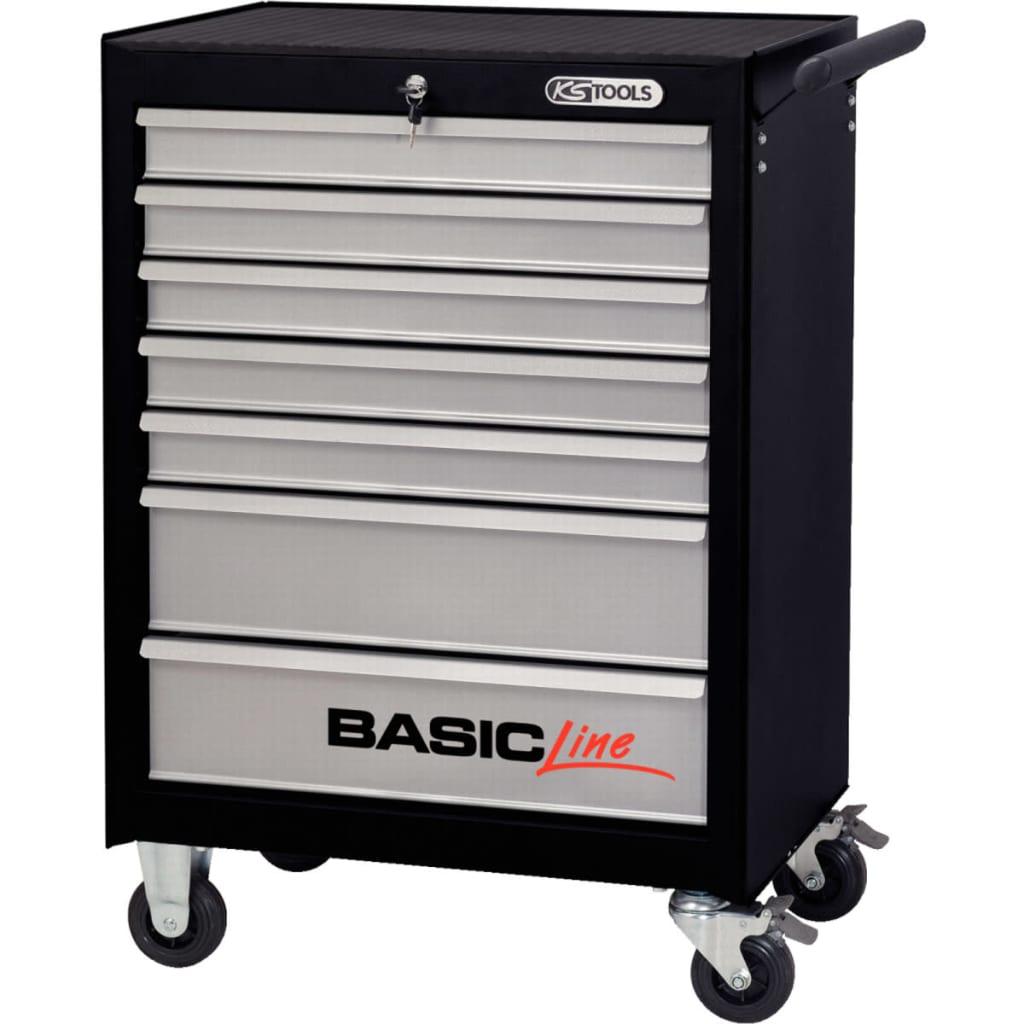 ks tools basic line workshop trolley with 7. Black Bedroom Furniture Sets. Home Design Ideas