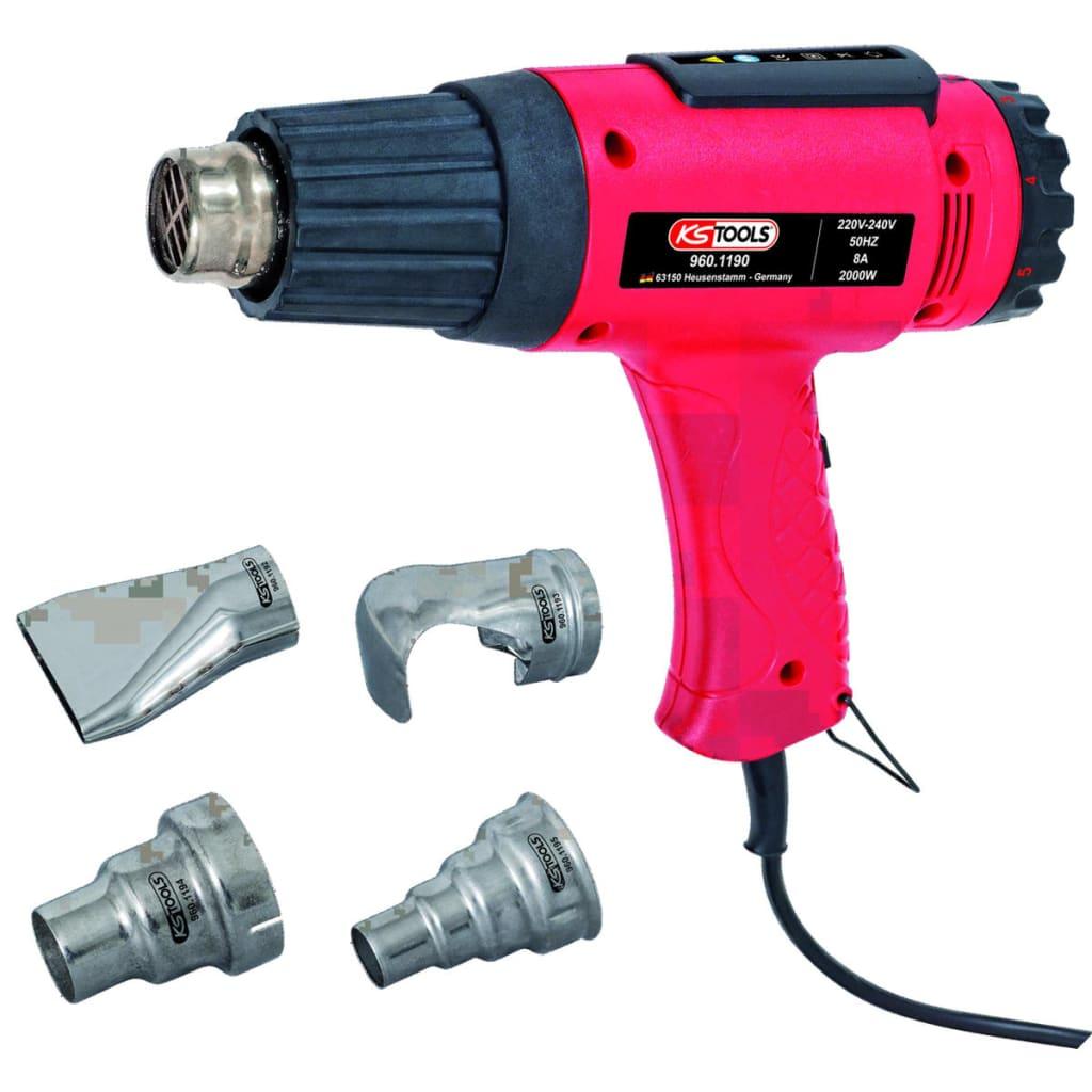 vidaXL.co.uk KS TOOLS Hot Air Blower Gun Set 5 pcs #C30849