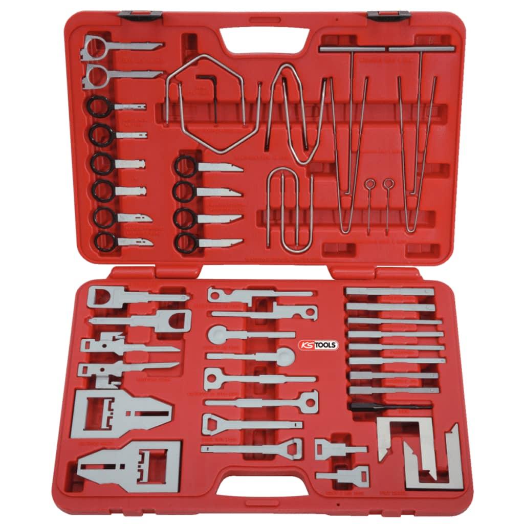 KS Tools Szerszámok Autórádió és Navigáció Beszerelése Kiszerelése Készlet