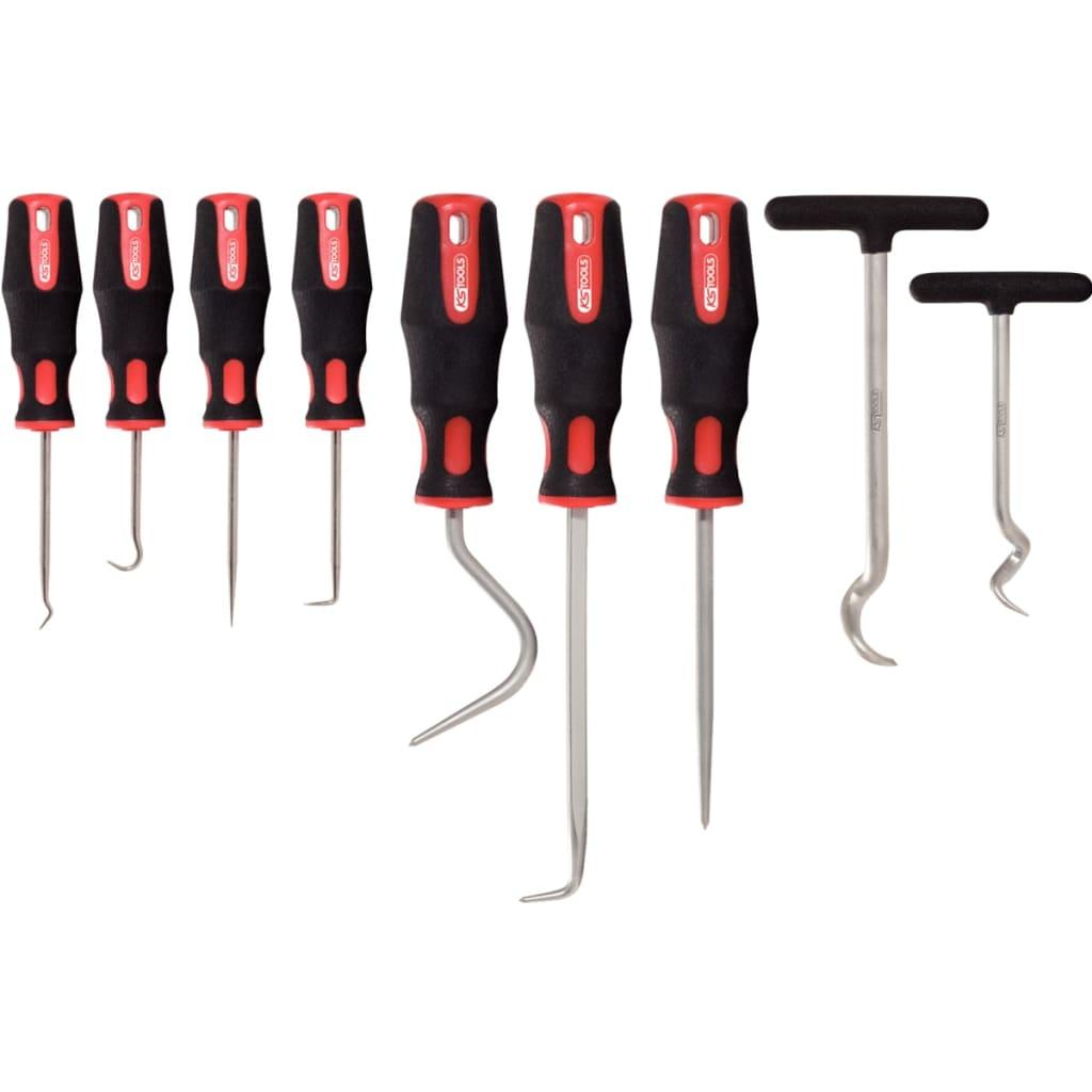 KS Tools Plock- och ritskroksats 9 delar