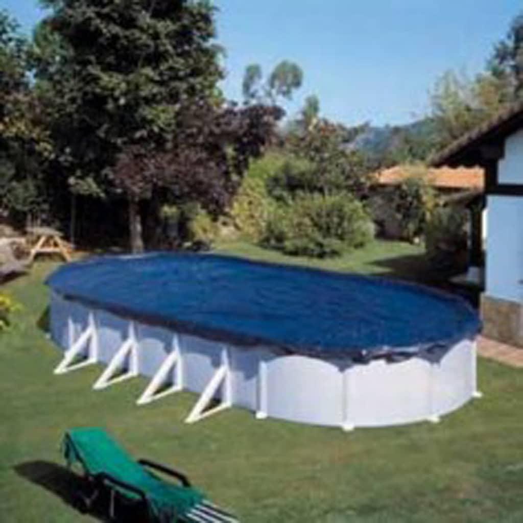 acheter b che d 39 hivernage pour piscine hors sol ovale 730 x 375 cm pas cher. Black Bedroom Furniture Sets. Home Design Ideas