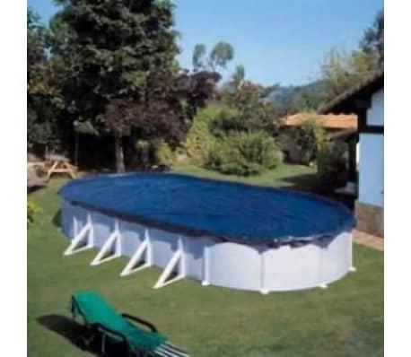 Gre zwembad afdekzeil ovaal 6 1 x 3 75 m online for Afdekzeil action