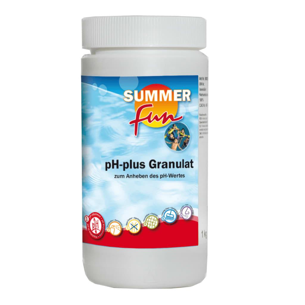 Summer Fun pH plus 1 kg Ce correcteur de pH vous permet de corriger rapidement et facilement la chimie de l'eau de votre piscine pour améliorer
