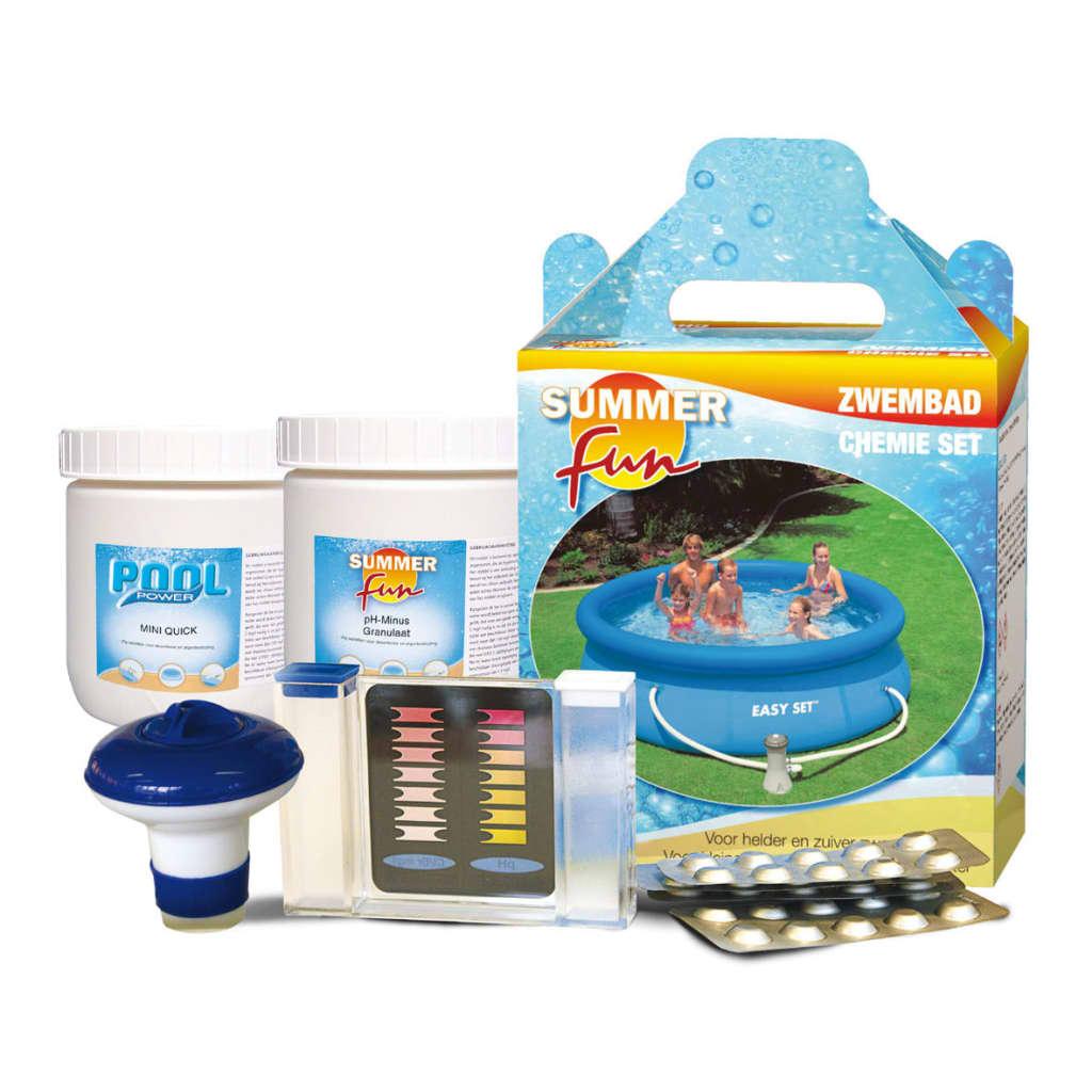 Summer Fun Poolkit rengöring pH mätare