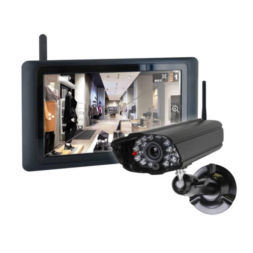 SMARTWARES Valós Idejű Digitális Kamerarendszer 9 Érintőképernyővel