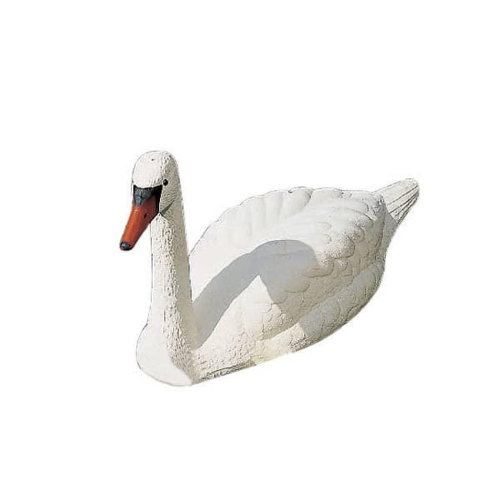 Ubbink White Swan Garden Pond Ornament Plastic | vidaXL.ie