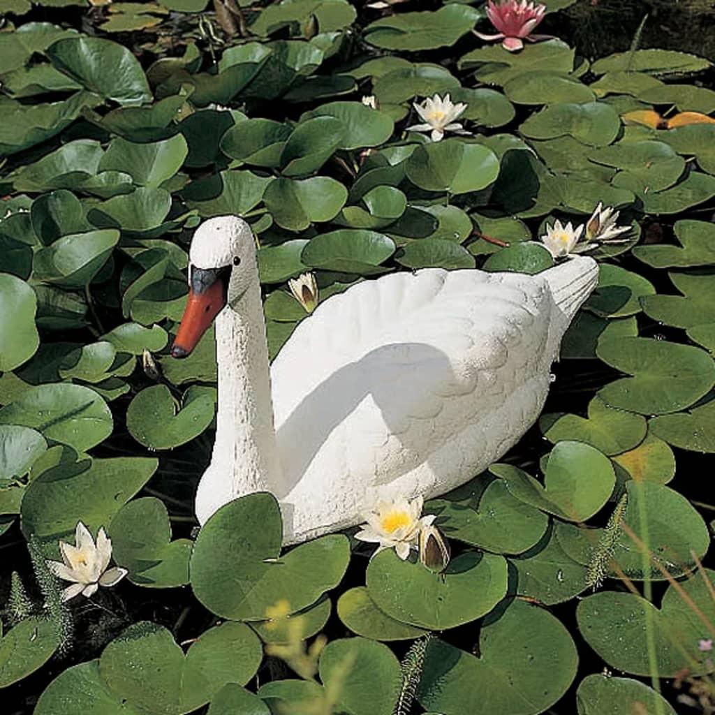 Ubbink cisne blanco adorno pl stico del estanque del for Plastico estanque