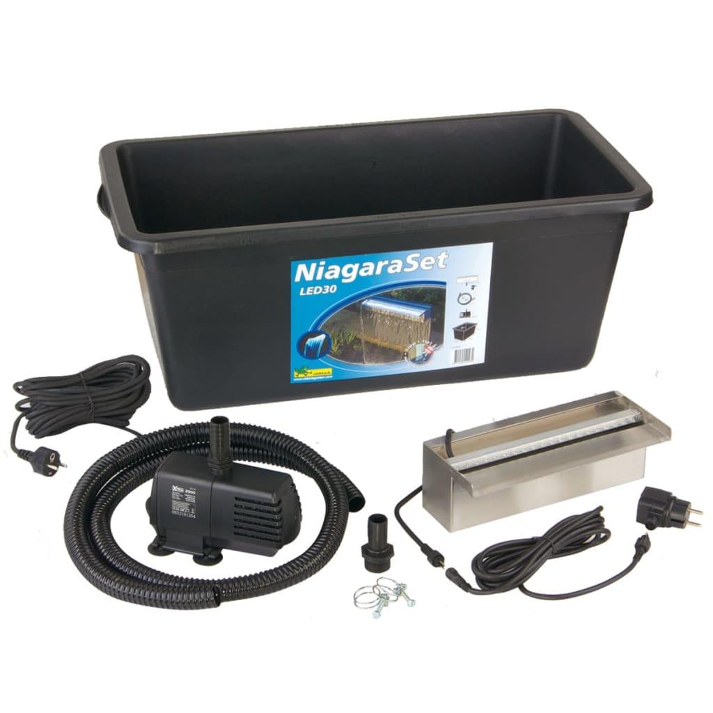 Acheter ubbink niagara 30 cm led kit cascade pour bassin for Kit bassin de jardin pas cher