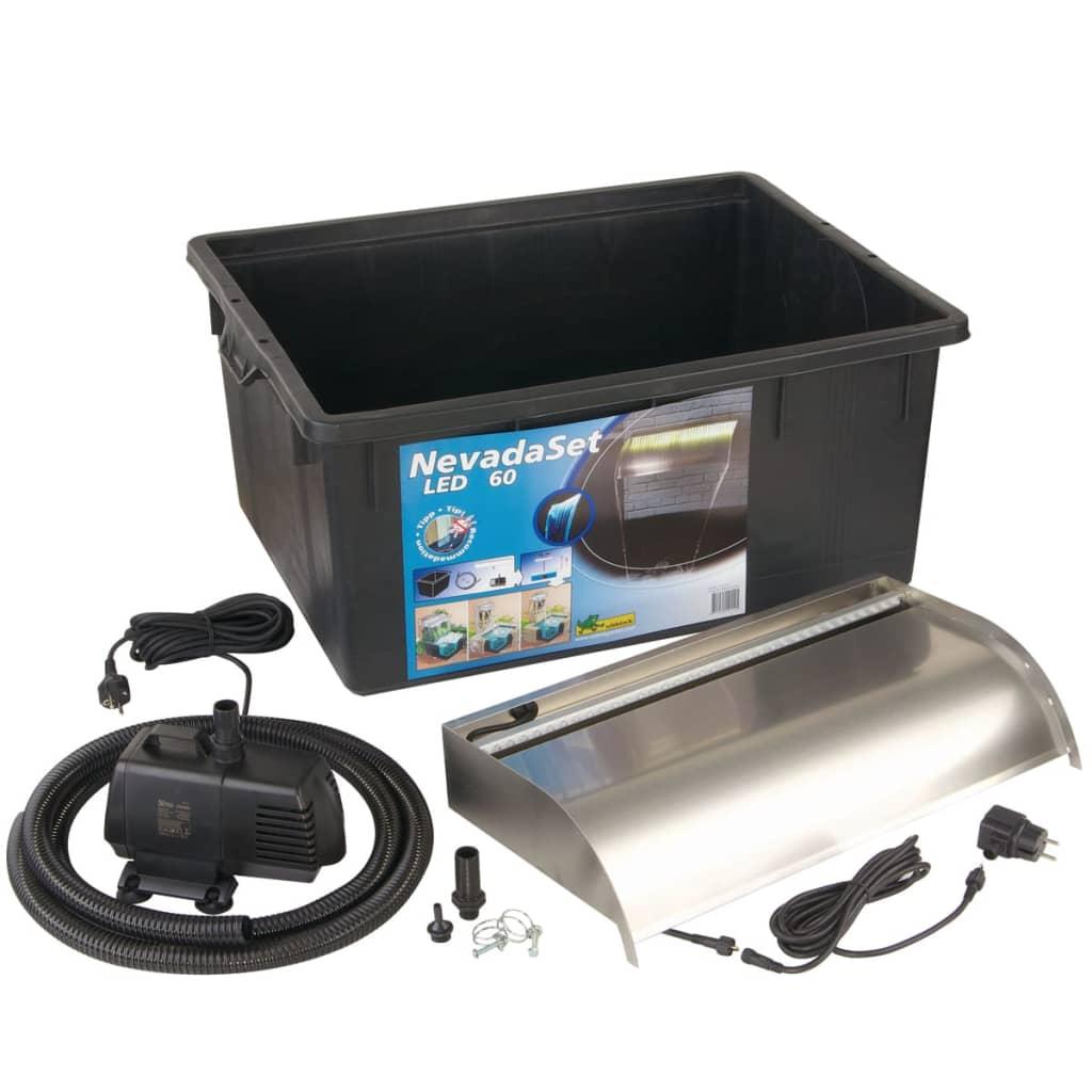 Acheter ubbink nevada 60 led kit cascade pour bassin de for Kit bache pour bassin