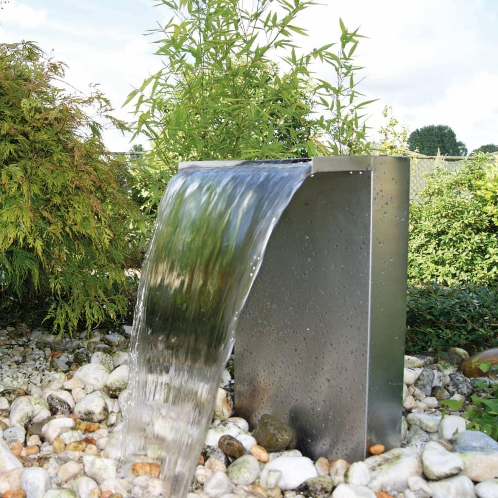 Ubbink Velence Rozsdamentes Acél Vízesés LED Szett