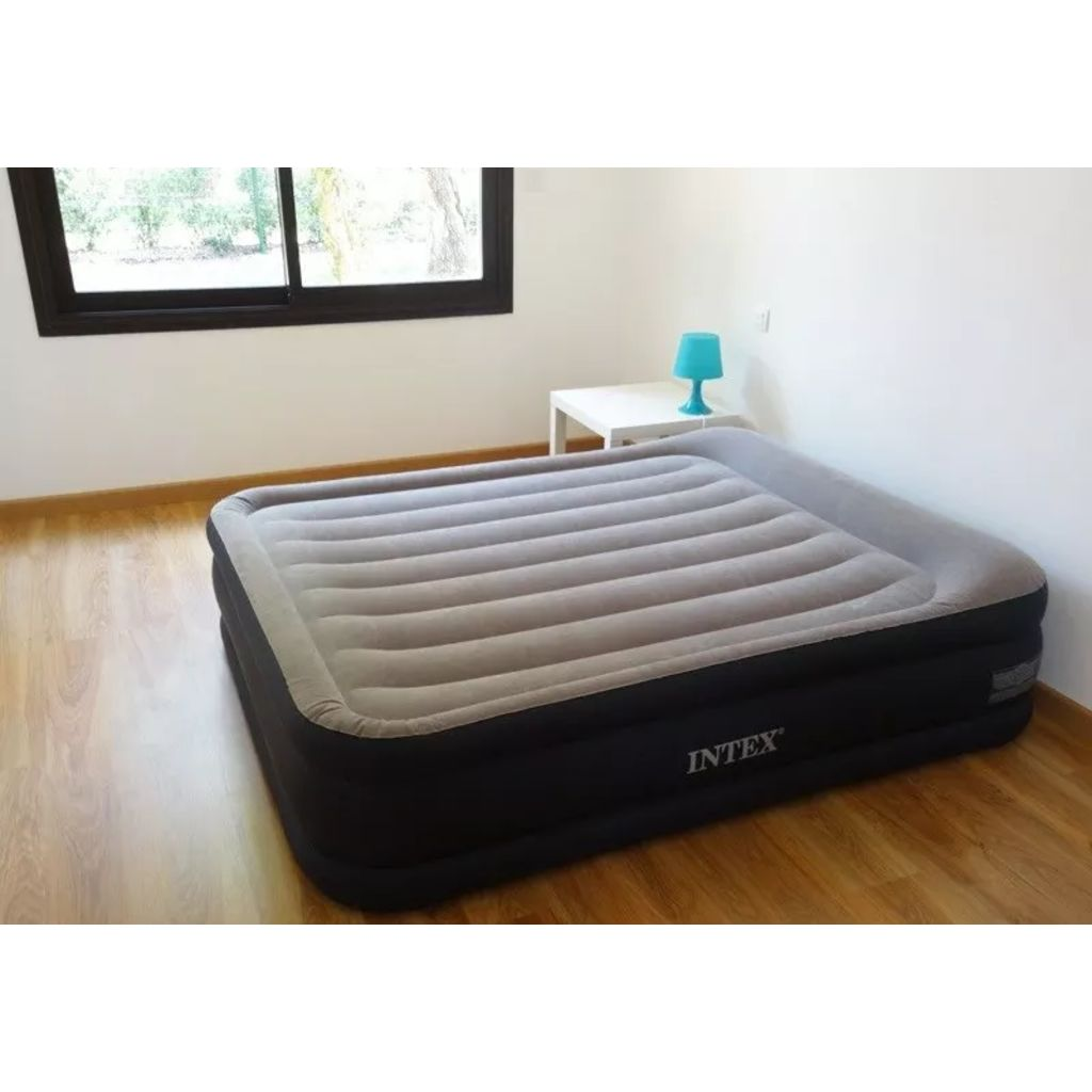 Intex luftbett mit eingebauter elektropumpe 2 personen for Intex webshop