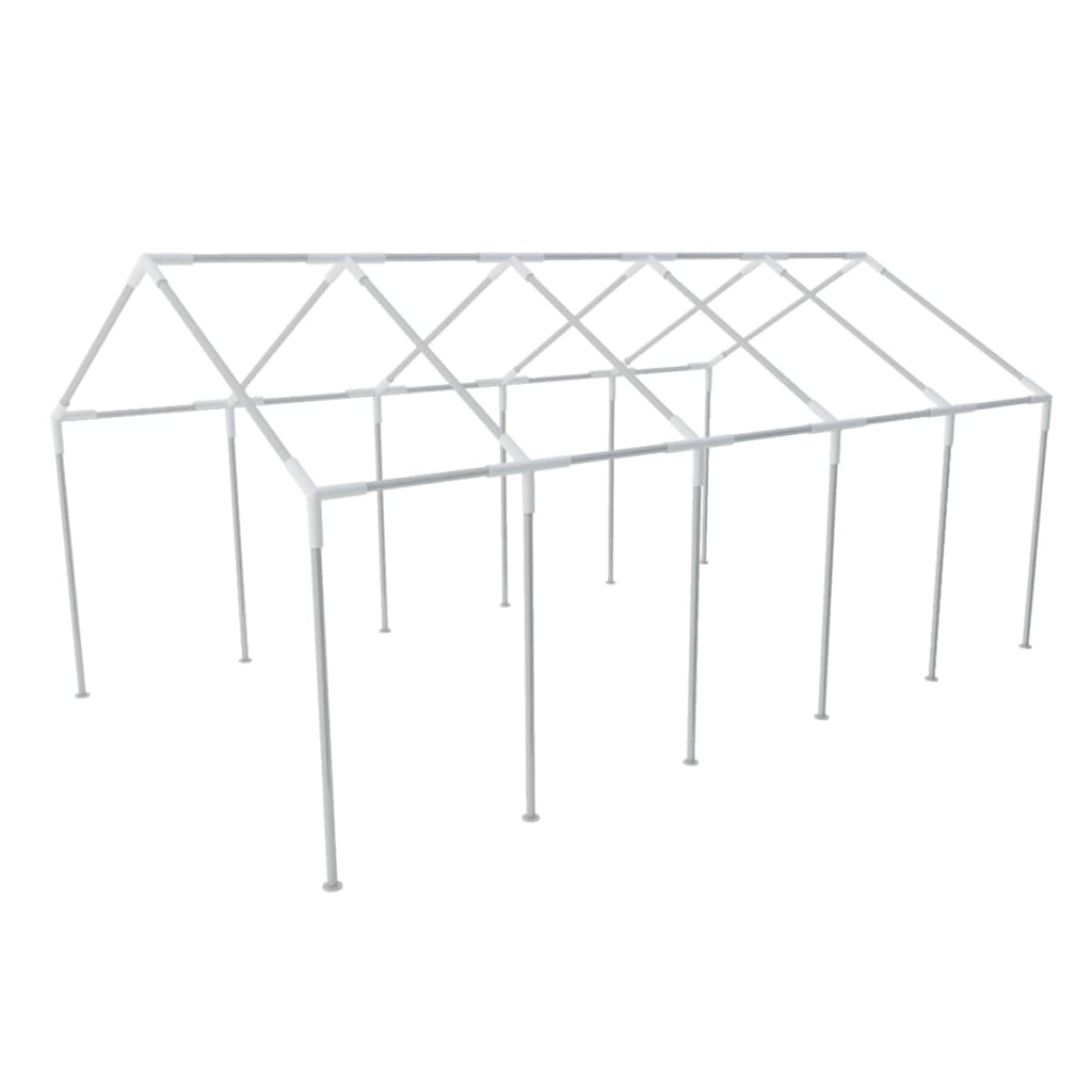 Steel frame for party tent 10 x 5 m for Steel frame tents