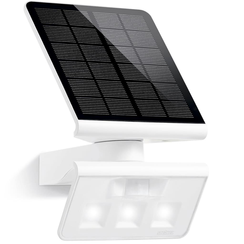 Luz X LED com painel solar e sensor de presença Steinel LS branco[1