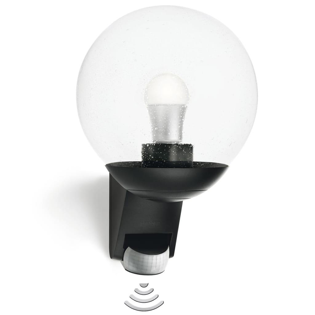 acheter lampe avec detecteur ext rieur l 585 noir pas cher. Black Bedroom Furniture Sets. Home Design Ideas
