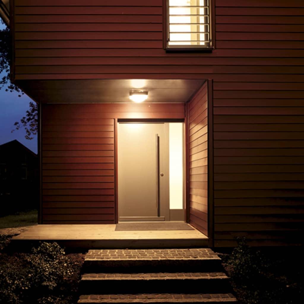 Acheter lampe avec detecteur ext rieur dl 750 s blanc plastique pas cher - Lampe avec detecteur ...