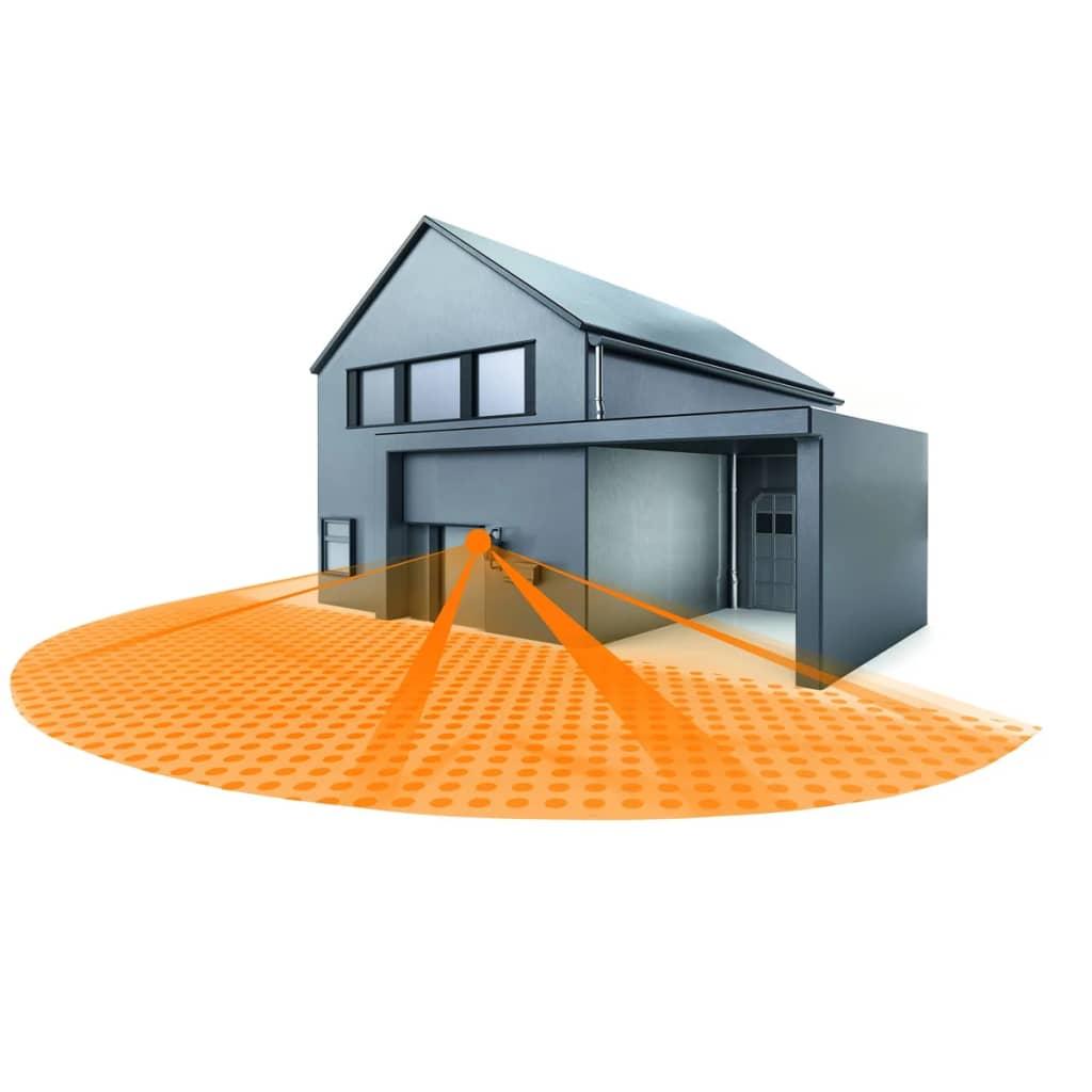 der steinel infrarot bewegungsmelder is 180 2 silber. Black Bedroom Furniture Sets. Home Design Ideas