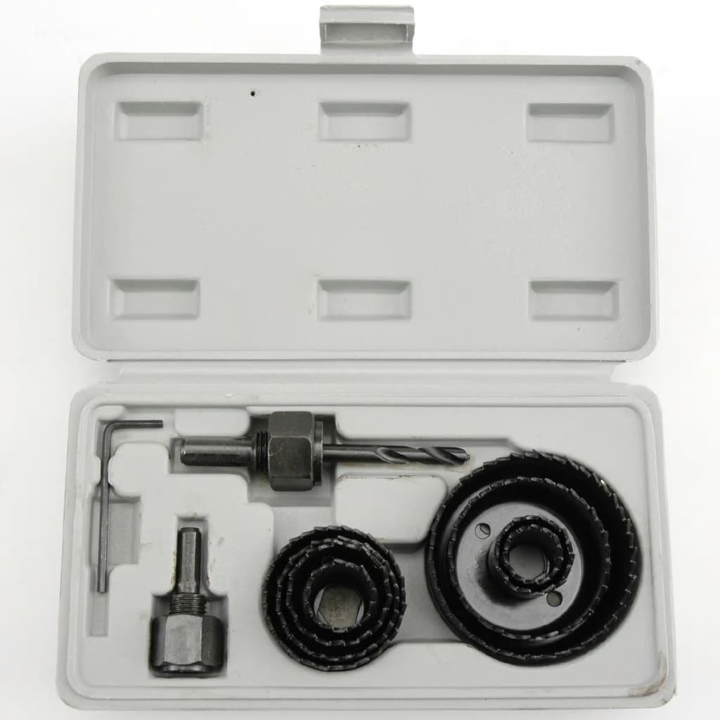 VOREL Vorel Hålsåg Uppsättning 11 Delar 30 – 65 mmn