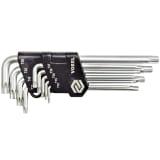 Vorel Torx sigurnosni ključevi 9 komada