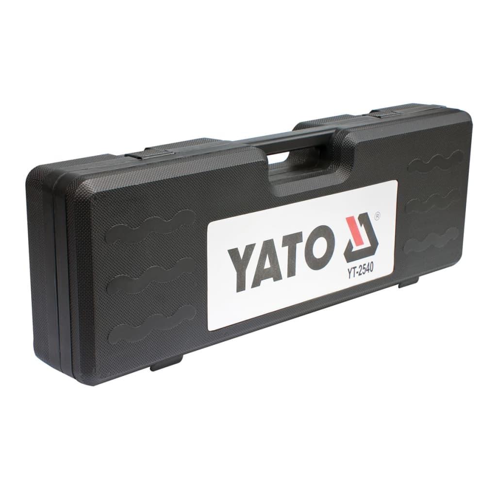 Gear Puller S45c : Vidaxl yato slide hammer gear bearing puller set