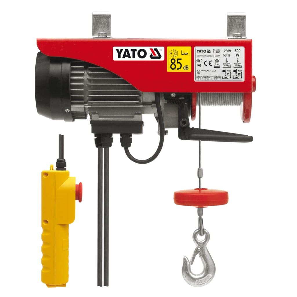 YATO Yato Elektromos Emelő 500 W 125/250 kg