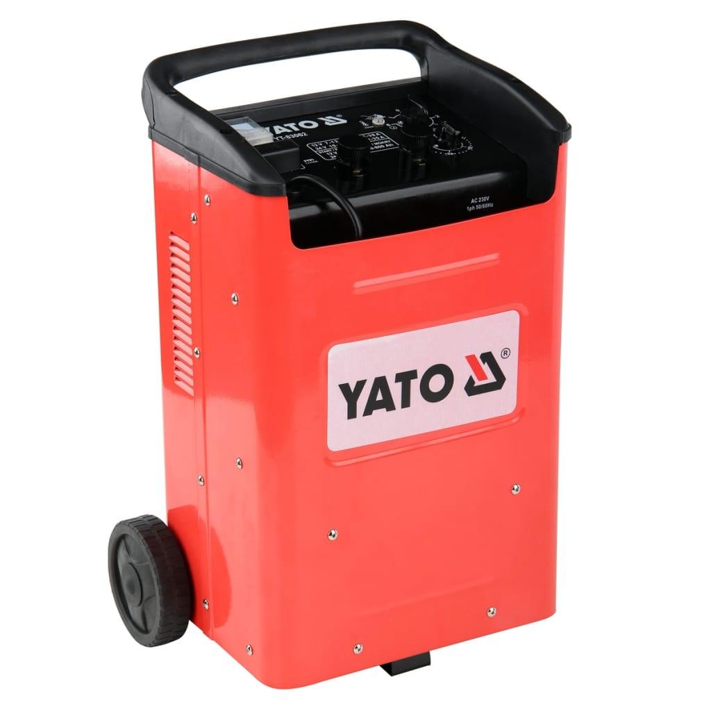 YATO Yato Akkumulátor Töltő és Indító