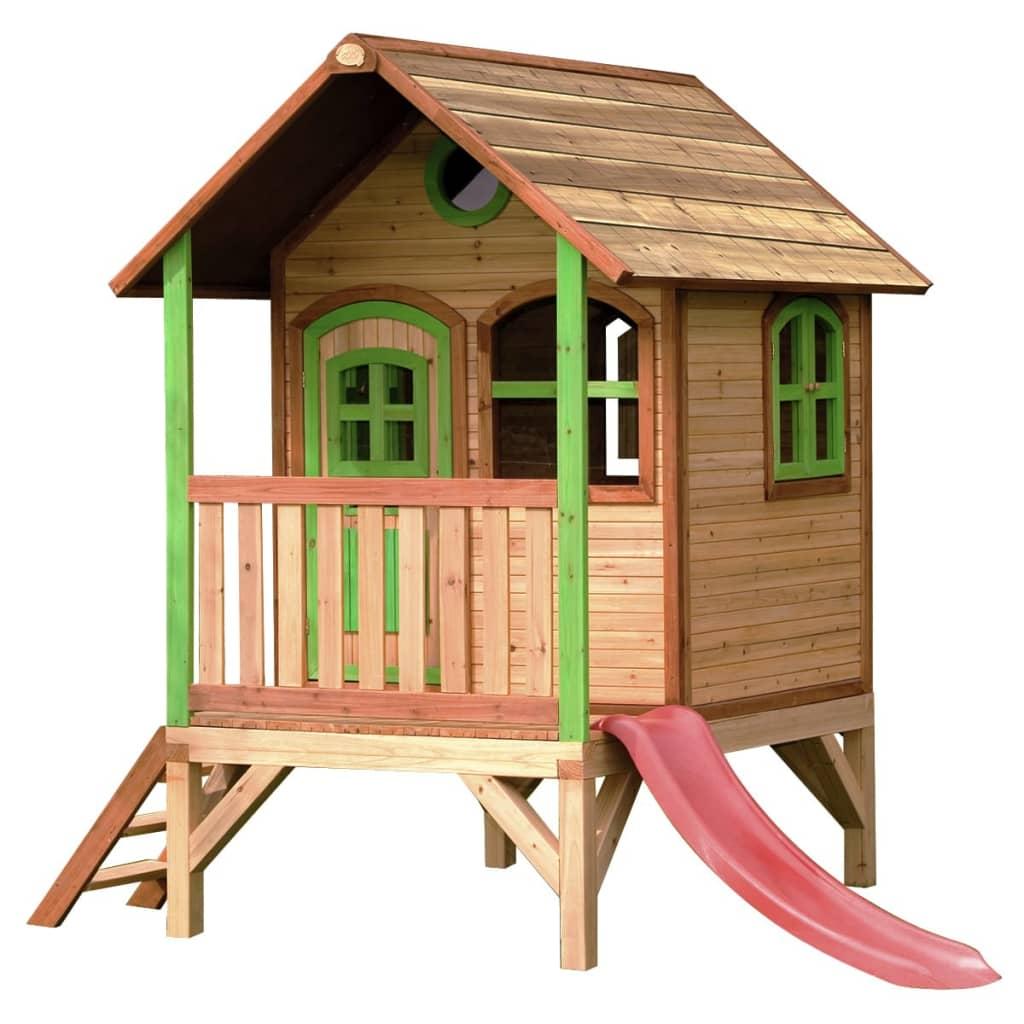 der axi kinder spielhaus aus holz tom online shop. Black Bedroom Furniture Sets. Home Design Ideas