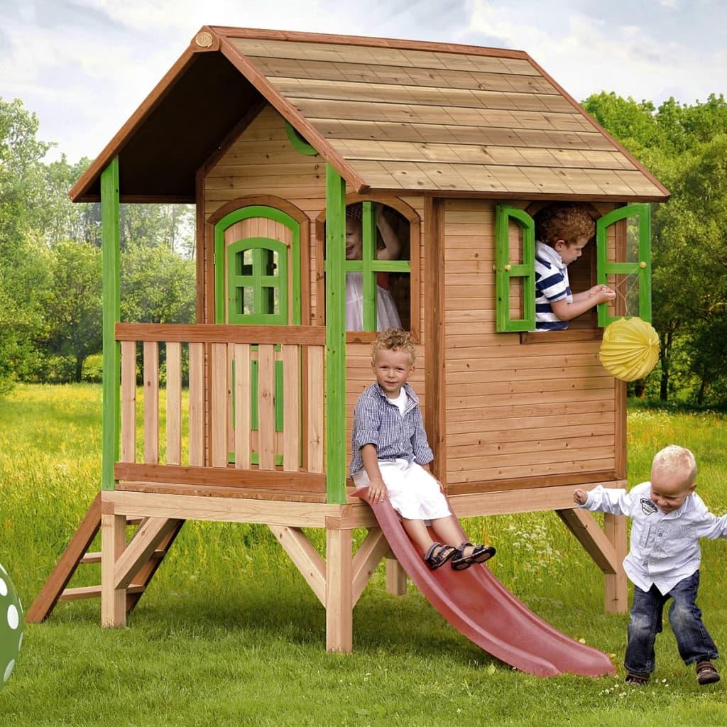 acheter maison de jeu tom en bois pour enfants axi pas cher. Black Bedroom Furniture Sets. Home Design Ideas