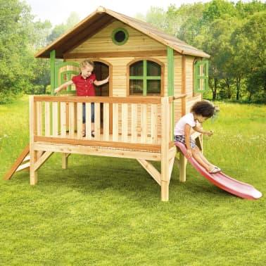 axi kinder spielhaus aus holz stef. Black Bedroom Furniture Sets. Home Design Ideas
